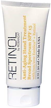 Retinol by Robanda Anti Aging Hand Treatment Broad Spectrum SPF 15 Retinol product image