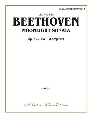 Moonlight Sonata, Op. 27, No. 2 (Complete) (Belwin Classic Library)