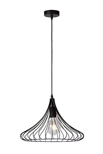 Lucide VINTI - Suspension - Ø 39,5 cm - Noir