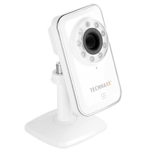 Technaxx TX-10 Easy IP Kamera - Überwachungskamera - weiß