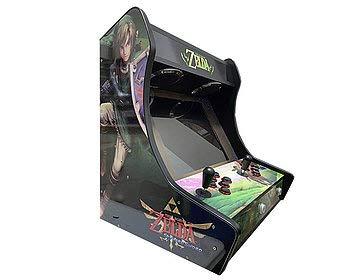 Arcade BARTOP VIDEOCONSOLA Retro máquina recreativa -Tamaño Real- Diseño-...