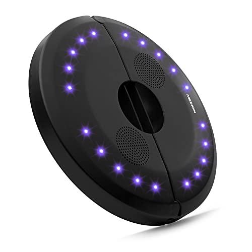 MEDION E61070 Sonnenschirm Lautsprecher mit LEDs (Pavillion Lautsprecher, Bluetooth 4.1, 20 Stimmungslichter mit 7 Farben, Fernbedienung)