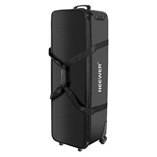 Neewer Professional Kameratasche 44,8 x 14,1 x 12,6 Zwei Tragemöglichkeiten Spinner Räder Mehrzweck Große Kapazität