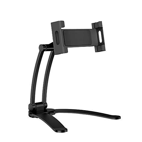 Bioaley Universal Adjustable Desk Wall Mount Phone Holder Mobile Phone Holder Tablet Holder Desktop Phone Stand