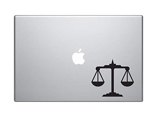 Weegschaal Zodiac Symbool Astrologie MacBook en auto Decal