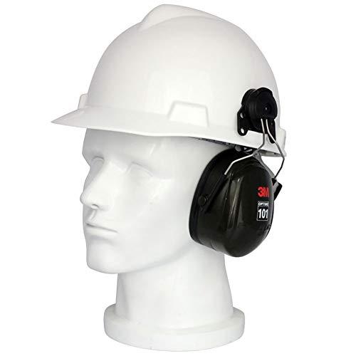 F-JX Casco De Seguridad Profesional De Motosierra con Oreja Protectora Y Máscara, Casco Protector De Protección Ocular, Equipo De Protección De Seguridad del Sombrero Duro