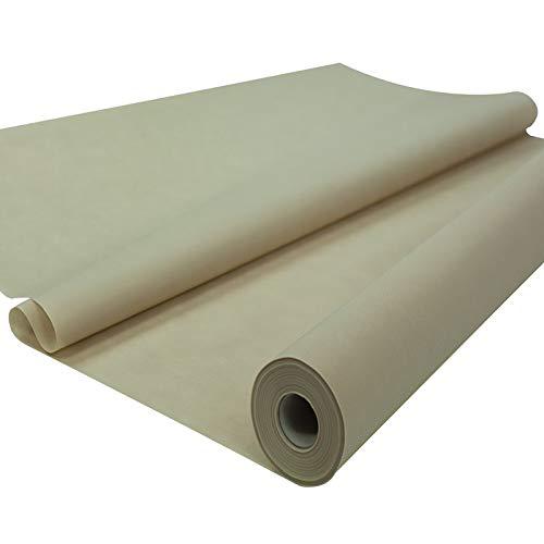 Fachhandel für Vliesstoffe Sensalux Tischdeckenrolle, stoffähnliches Vlies, Oeko-TEX Standard 100 - Klasse I Zertifiziert, 1,20m x 25m, Beige