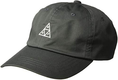 HUF Gorra de béisbol Triple Triangle de Visera Curvada Antracita - Ajustable