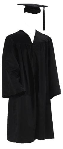 Doktorhut Doktor Talar Cap Robe College Abschluß Uni (Small)