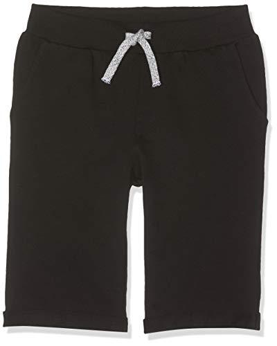 Name IT NOS Jungen NKMVERMO Long SWE UNB NOOS Shorts, Schwarz (Black), (Herstellergröße: 110)