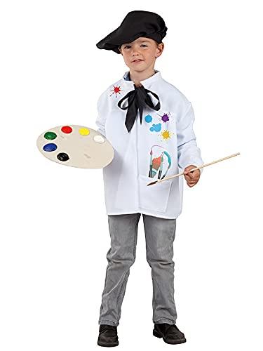 DISBACANAL Disfraz de Pintor Infantil - 6 año