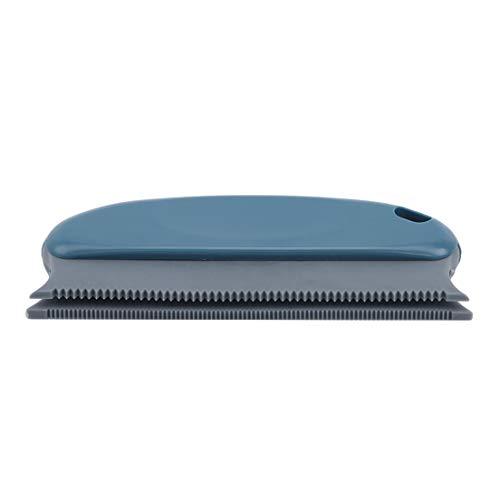 EMFGJ Removedor de pelo de mascotas, removedor de pelusa reutilizable, cepillo para eliminar pelo de perro y gato, para sofá, muebles, alfombras, ropa de cama, color azul