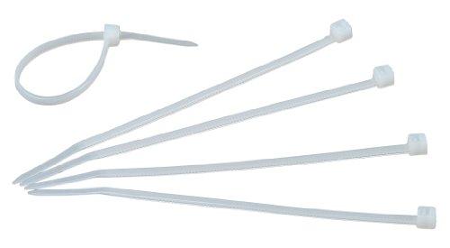 Kopp 356801098 Kabelbinder, 100 x 2.5 mm, 50 Stück, transparent