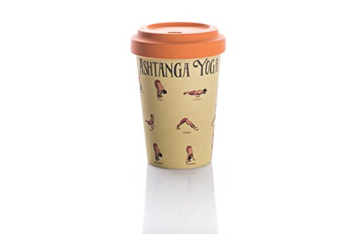 Coffe to go Becher Bamboo Cup (Yoga Moves)