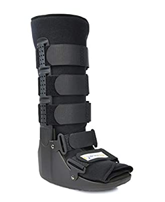Cam Walker Fracture PDAC Approved L4386 and L4387 Boot Tall - Medical Recovery, Protection and Healing Boot - Toe, Foot or Ankle Injuries by Brace Align by Brace Align