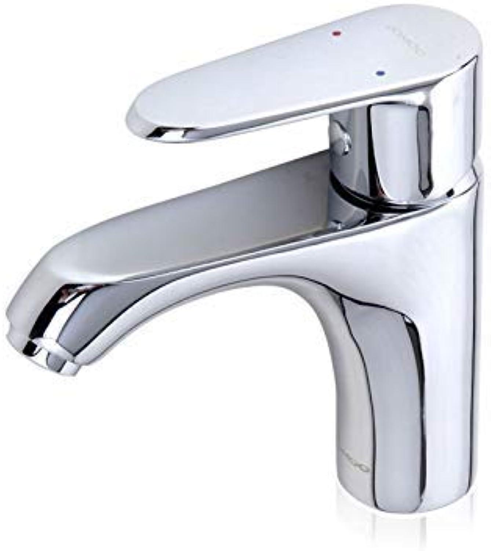 Oudan Single Hole Basin Hot and Cold Water Faucet Washbasin Mixer (color   -, Size   -)