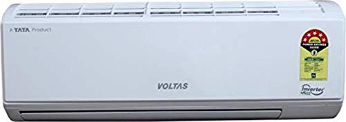 Voltas 1.2 Ton 5 Star Inverter Split AC (Copper 155V_DZW White)