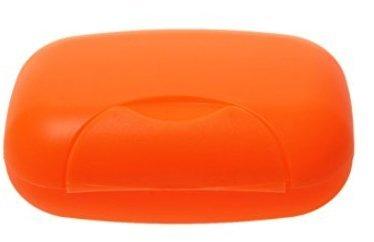 Lyuboov 1pcs Plastic Soap Case Porte-boîte Conteneur pour Les Voyages en Plein air Utilisation à la Maison (Orange)