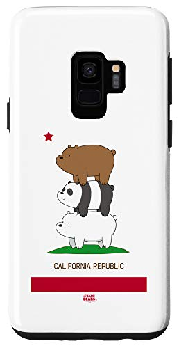 Galaxy S9 We Bare Bears Cali Stack Case