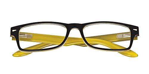 El Charro Occhiali da Lettura Modello Kansas Nero/Giallo, Diottria +1.5-1 Prodotto