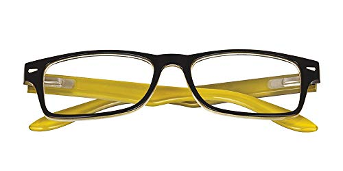El Charro leesbril model Kansas zwart/geel, Dioptria + 3.5-1 product