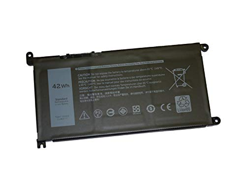 Replacement 3 cell battery for Dell Inspiron 14 5482 5485