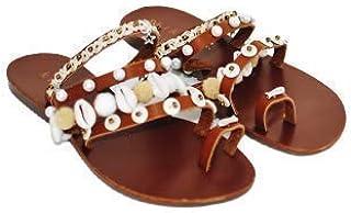 Kiki Boho   Sand Sandals, sandalias artesanales de piel y yute hechas por artesanos mayas talla 6mx- 9us