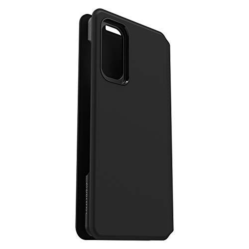 OtterBox Strada Via sturzsicheres, praktische Folio Schutzhülle für Samsung S20 - Schwarz