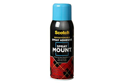 3M Spray Mount Artist's Adhesive, One 10.25 Ounce Can (MMM6065)