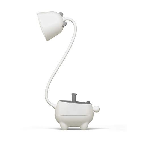 Lámpara Escritorio LED,lámpara de escritorio con protección ocular,Lámpara de lectura con conexión de carga USB,interruptor táctil,cuello de cisne flexible 360 °,para dormitorio,oficina,exterior