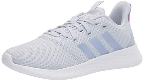 adidas Puremotion - Zapatillas para Mujer, Color Blanco, Blanco y Azul Claro, Color, Talla 41 1/3 EU