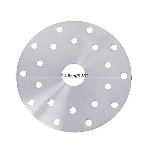 goodluccoy Utensilios de Cocina de Acero Inoxidable Placa de guía térmica Disco de conversión de Placa de inducción