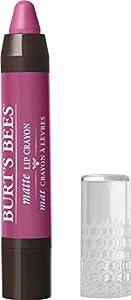 Burt's Bees 100% Natural Moisturizing Matte Lip Crayon, Hawaiian Smolder - 1 Crayon