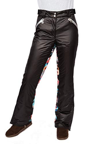 Stayer sportbroek winterbroek thermo-broek heren dames freeride snowboad-broek skibroek jungle zwart