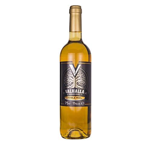 Valhalla Hidromiel Doble Miel | Bebida Ecológica, Aroma Floral, Higos Secos y Pasas, Sabor Dulce, Intenso y Persistentes, Botella de 75 cl