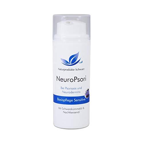 Naturprodukte Schwarz - NeuroPsori Basispflege Sensitive, Creme bei Neurodermitis, 50ml