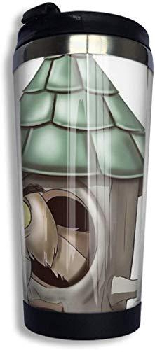 ngfh quan junxiasx Archimedes Who What Isolierter Vakuum-Edelstahlbecher 348 ml Kaffee Reise Becher