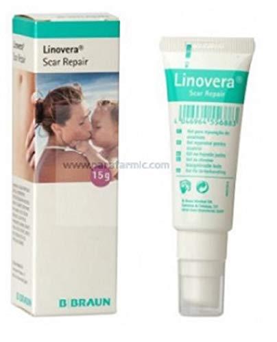 Linovera Scar Repair Gel reparador cicatrices con ácido hialurónico 15 gramos