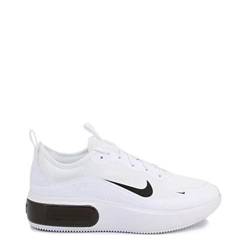 Nike Womens W AIR MAX Dia Running Shoe, White/Black