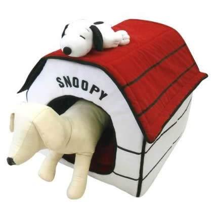 スヌーピーペットハウス 折りたたみ室内用犬小屋・ペットベッド