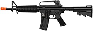 Lancer Tactical LT01C M4 M733 Commando Carbine AEG Airsoft Rifle (Black)
