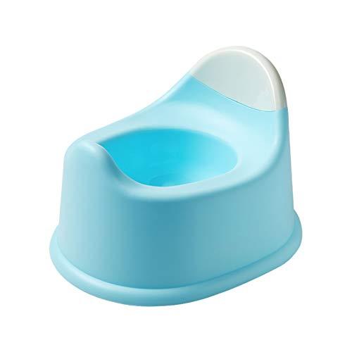 Vasino in Plastica Intelligente per Neonati E Bambini Design Ergonomico Antiscivolo E Facile da Pulire Sedia da Addestramento per WC Blu