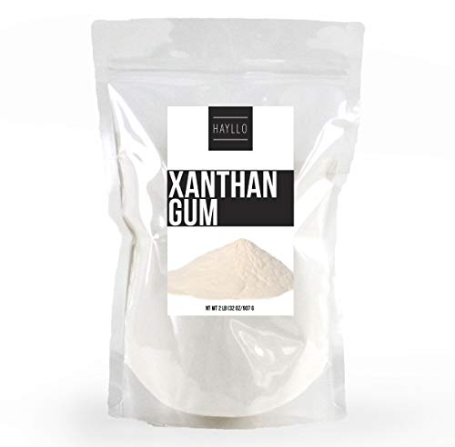 Xanthan Gum 2 lb (32 Ounce) Packed in the USA, by Hayllo, Gluten-Free