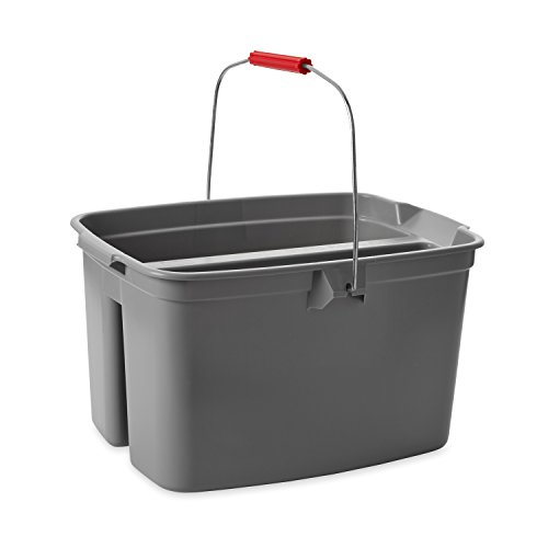Rubbermaid Commercial Products Commercial 19qt Double Pail - Grey