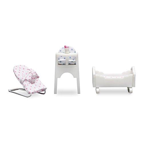 Lundby 60.2045.00 - Muebles de bebé Småland para casa de muñecas