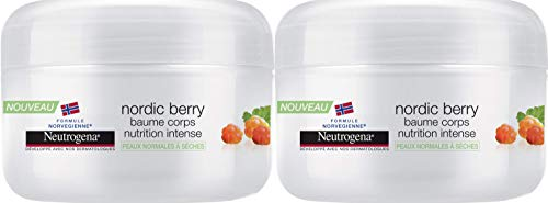 Neutrogena - Nordic Berry Baume pour Corps Nutrition Intense Pot 200 ml - Lot de 2