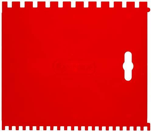 Connex cox883270–Zahnspachtel Kunststoff, Rot