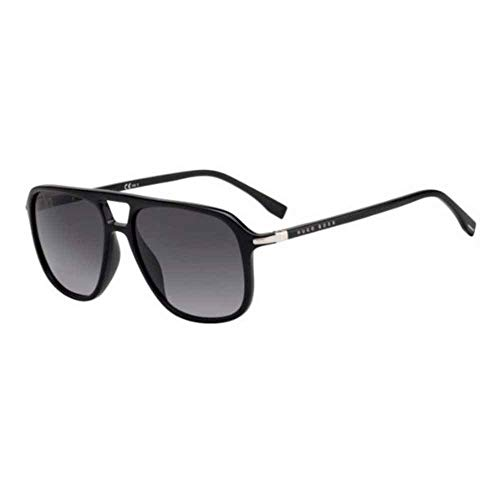 Hugo Boss Boss 1042/S Gafas, BLACK/GY GRIGIO, 56 Adultos Unisex
