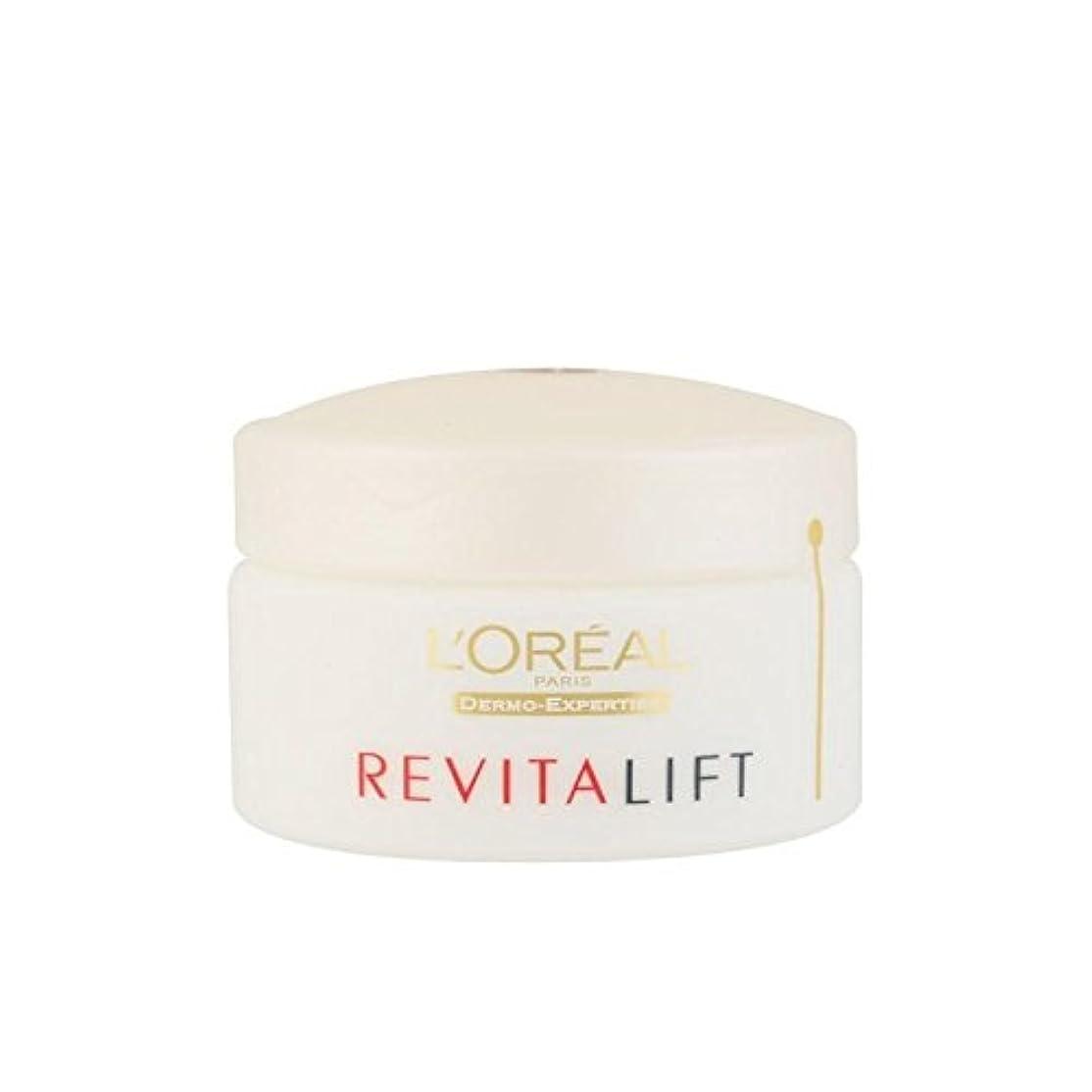 設計図全体にアナロジーロレアルパリ、真皮の専門知識の抗シワ+ファーミングデイクリーム(50ミリリットル) x4 - L'Oreal Paris Dermo Expertise Revitalift Anti-Wrinkle + Firming Day Cream (50ml) (Pack of 4) [並行輸入品]
