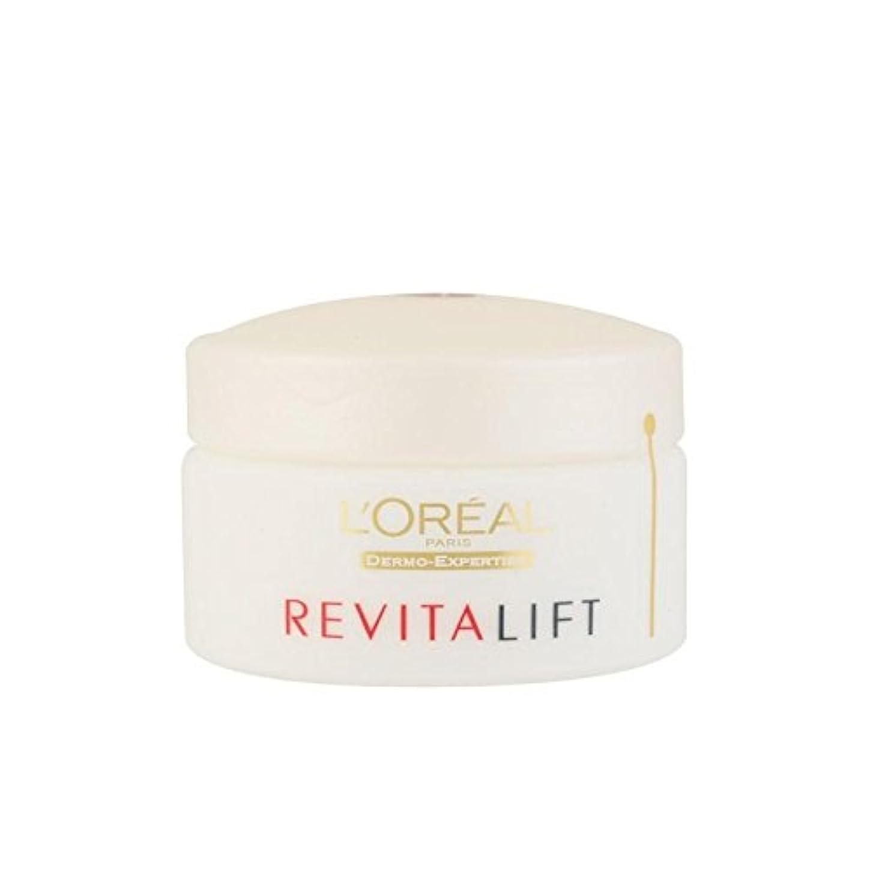 化合物官僚一次ロレアルパリ、真皮の専門知識の抗シワ+ファーミングデイクリーム(50ミリリットル) x2 - L'Oreal Paris Dermo Expertise Revitalift Anti-Wrinkle + Firming Day Cream (50ml) (Pack of 2) [並行輸入品]